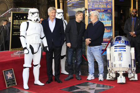 08.03.2018<br>Mark Hamill erhält einen Stern auf dem Hollywood Walk of Fame in Los Angeles