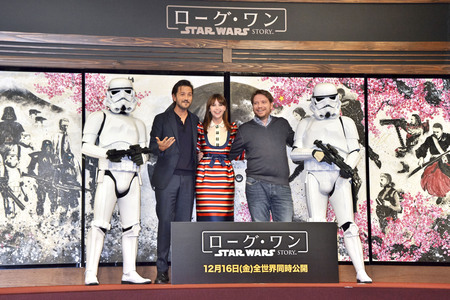 07.12.2016<br>Pressekonferenz 'Star Wars: Rogue One' in Tokio