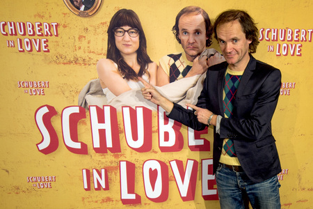 06.12.2016<br>Filmpremiere 'Schubert in Love' in Dresden