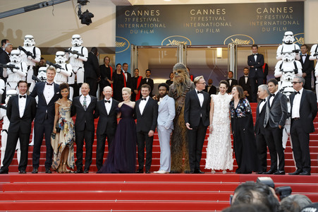 15.05.2018<br>'Solo: A Star Wars Story' Premiere, Cannes Film Festival 2018
