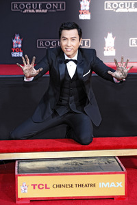 30.11.2016<br>Hand and Footprint Ceremony mit Donnie Yen in Los Angeles